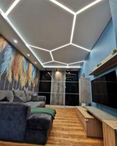 эксклюзивные натяжные потолки фото