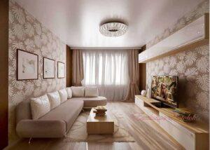 Натяжные потолки фото в Кривом роге галерея с гостиной