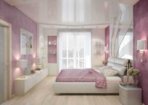 Натяжные потолки кривой рог фото купить недорого в спальне в детской