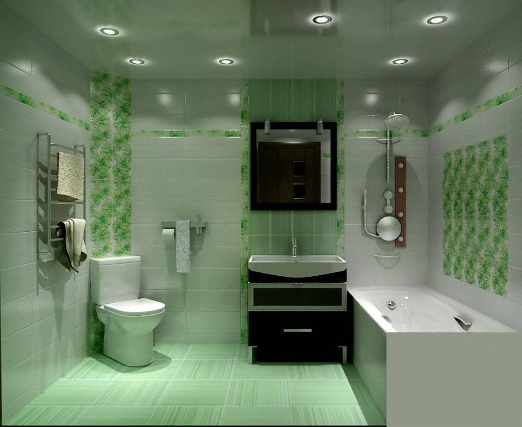 Потолок в ванной в Зеленодольске