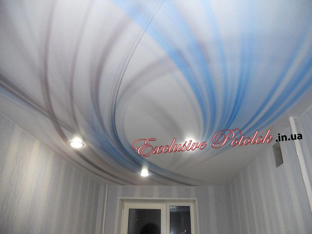 Натяжные потолки с фотопечатью Кривой Рог фото Натяжні стелі