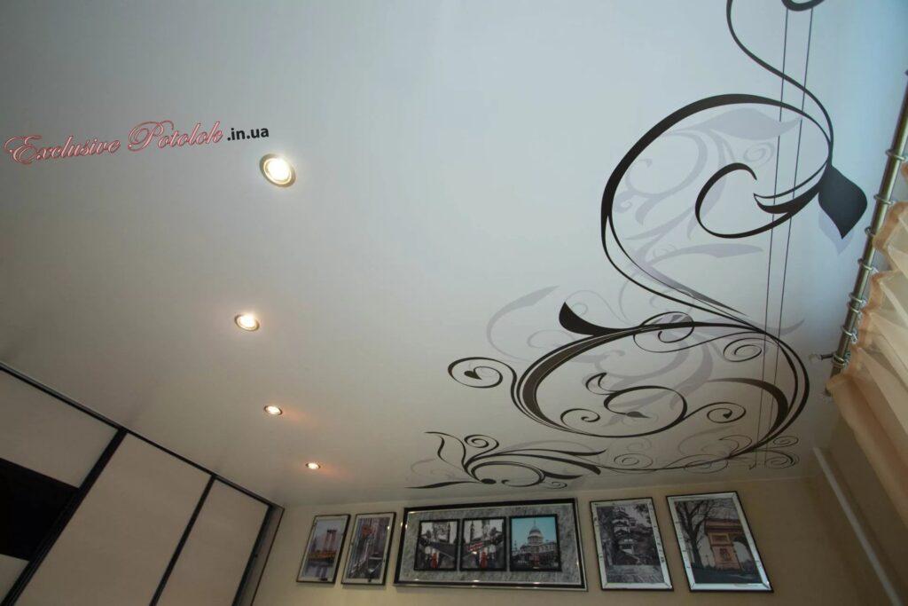 Натяжной потолок фотопечать в Кривом Роге Натяжна стеля фотодрук в Кривому Розі