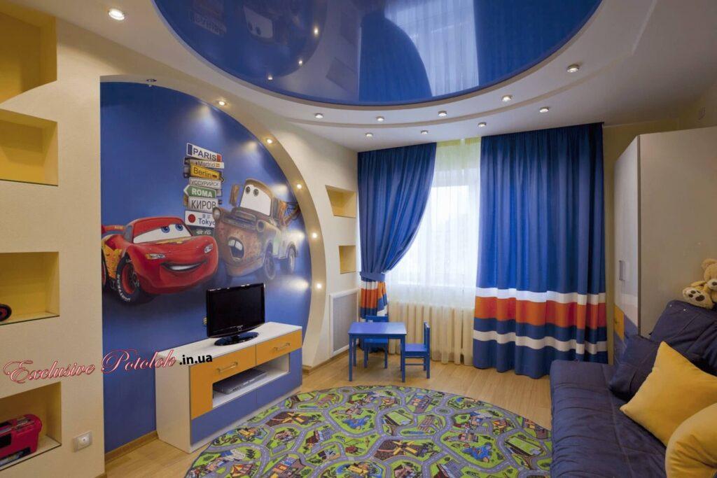 Натяжные потолки в детскую комнату Кривой Рог фото Натяжні стелі в дитячу кімнату Кривий Ріг