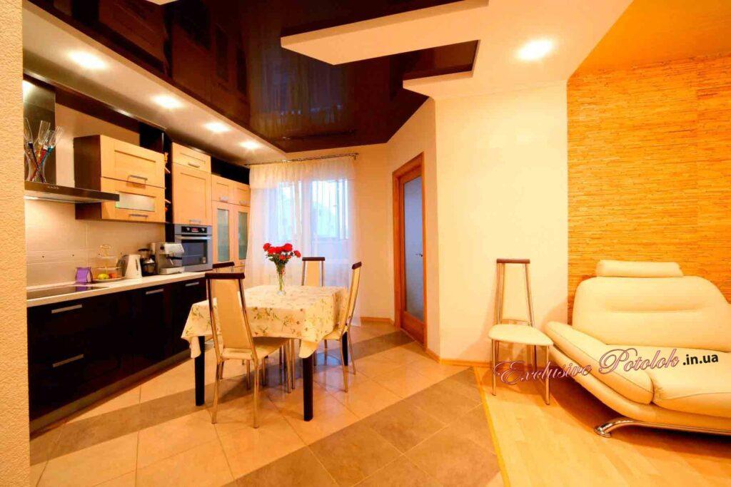 Натяжные потолки на кухне фото Кривой Рог натяжні стелі на кухні фото Кривий Ріг