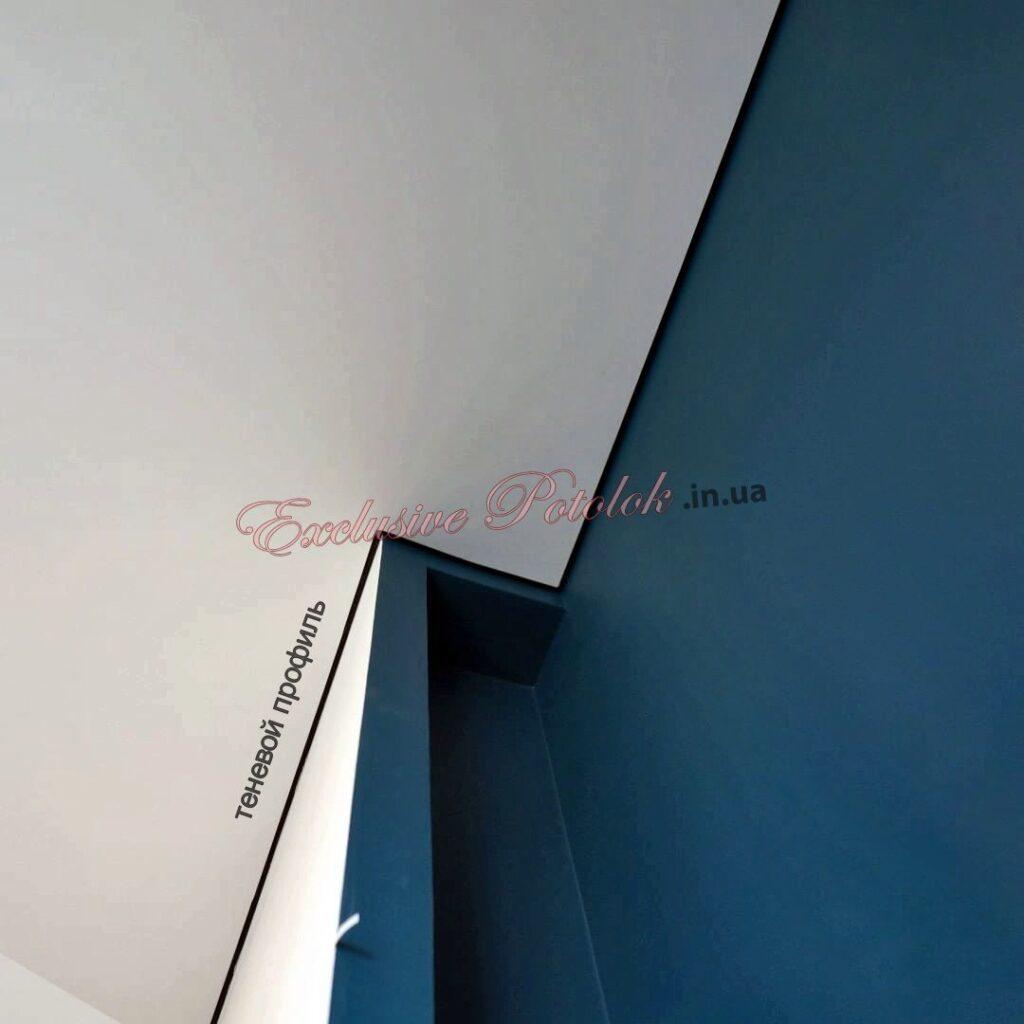 Галерея каталог Теневые натяжные потолки Кривой Рог фото